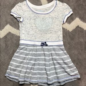 Cat & Jack sweatshirt material dress 5T